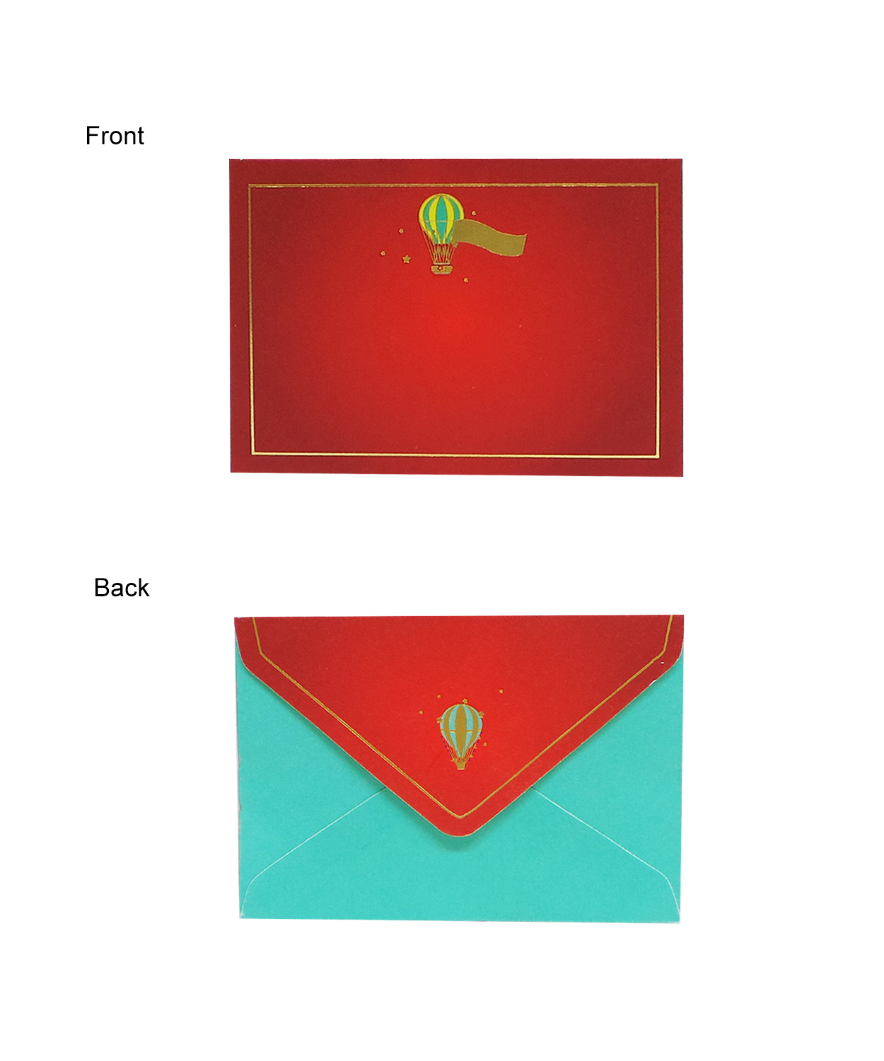 Parachute Thank You Card With Envelope - Buy Parachute ...